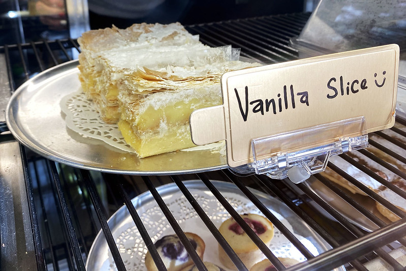 Vanilla slice: Two Brothers, Lane Cove