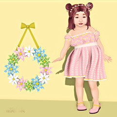 Baby Ghee - Daisies Gacha - BAG 4 B - BAG 7 B - BAG 13 by Sophia Paez Serendipity (kandygift)