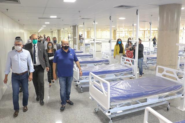 Hospital de campanha da Arena Mané Garrincha tem 173 leitos