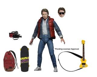 NECA《回到未來》馬蒂‧麥佛萊 (Marty McFly)&畢夫 (Biff)、《回到未來II》馬蒂‧麥佛萊 (Marty McFly) 7 吋可動人偶發表!