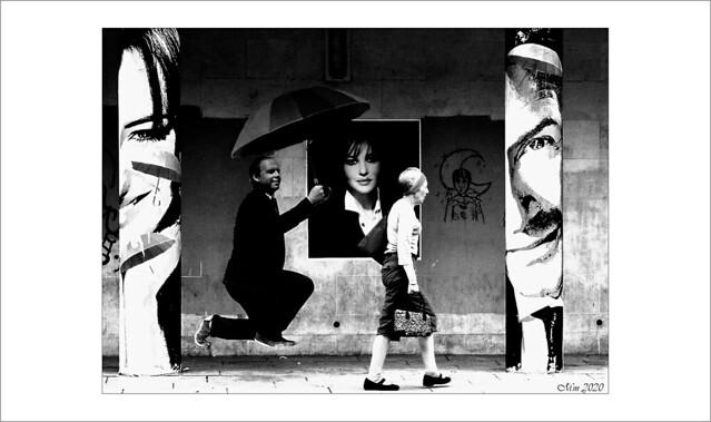 Un petit coin de parapluie ....