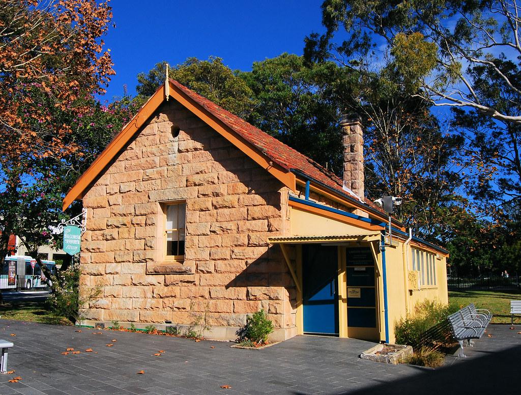 Library, Seaforth, Sydney, NSW.