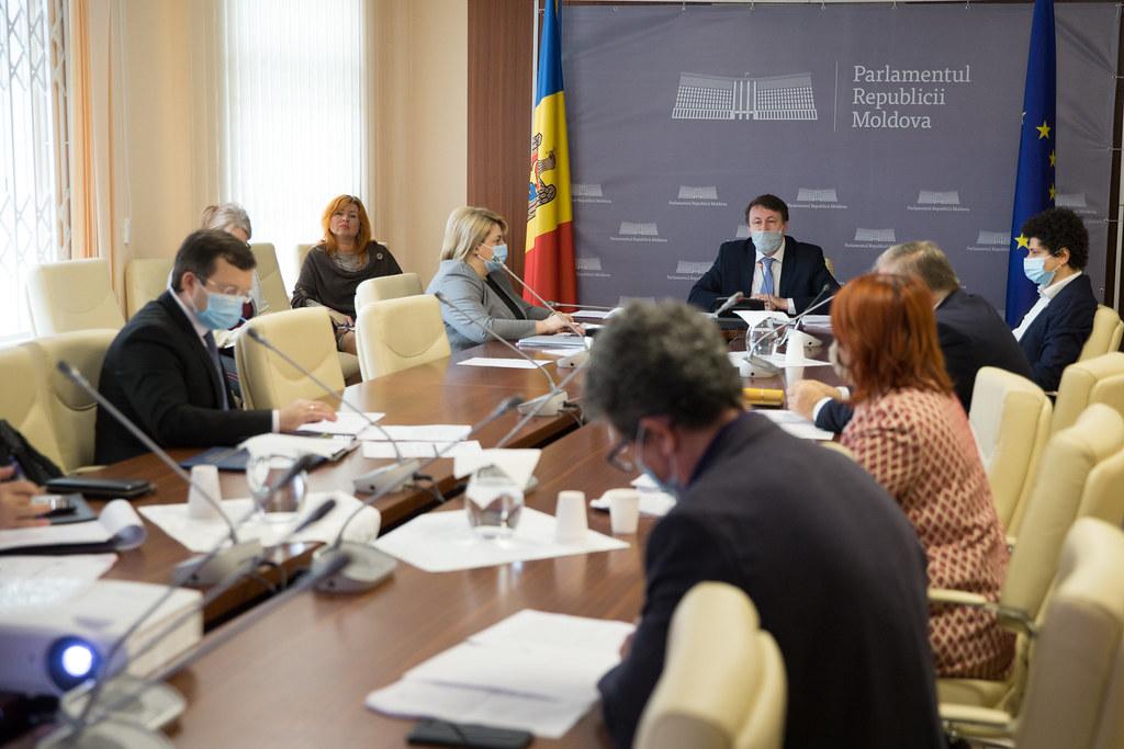 12.05.2020 Şedinţa Comisiei de control al finanțelor publice