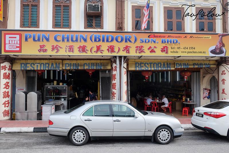 famous wan tan mee bidor