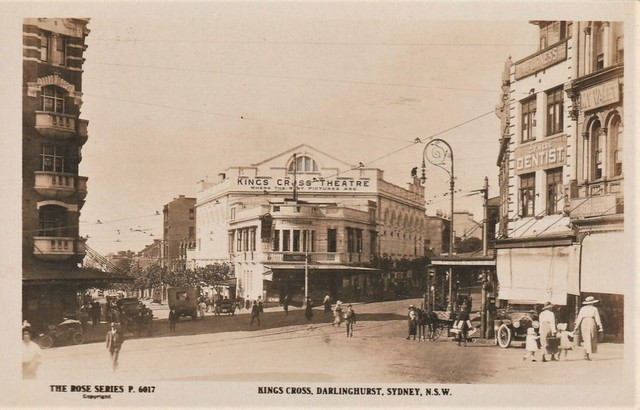 Kings Cross, Darlinghurst, Sydney, N.S.W. - 1920s