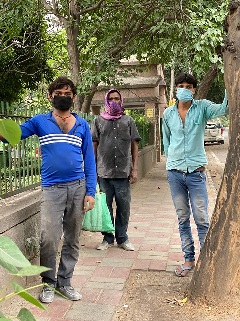 City Life - Three Masked Mistris, South Delhi