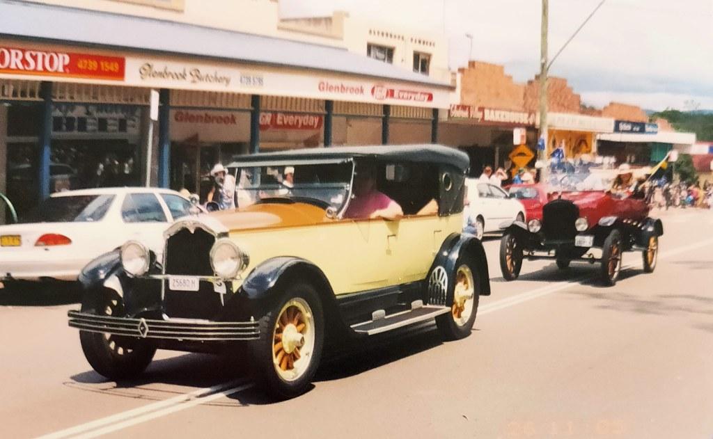 Buick 1927 Big Six Master Tourer at the Glenbrook Village Festival, Glenbrook NSW.