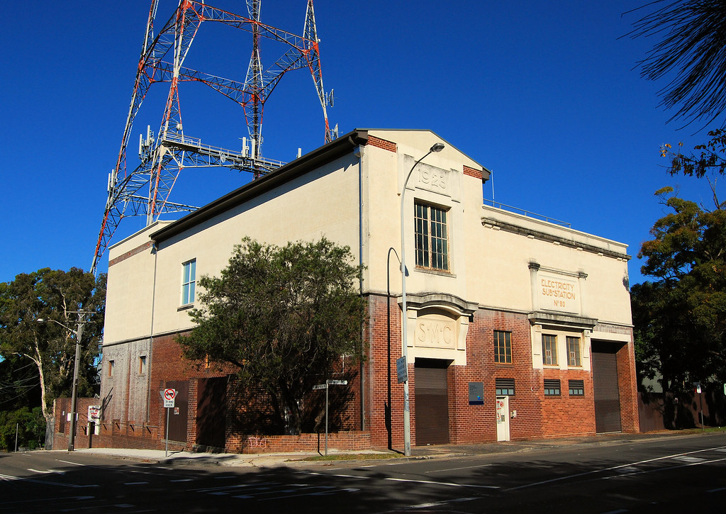 Electrical Sub Station No 80, Artarmon, Sydney, NSW.