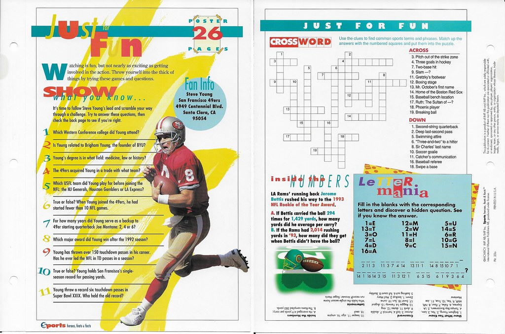 1995 steve young poster 20a