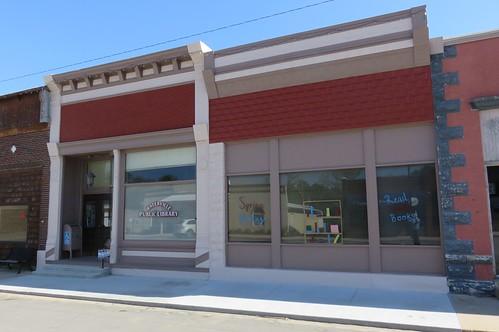 kansas ks libraries meskerstorefronts marshallcounty waterville flinthills northamerica unitedstates us greatplains