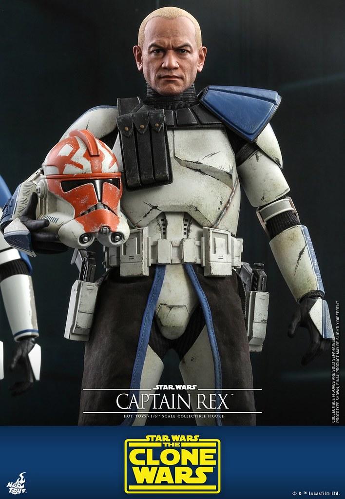 忠誠、可靠的藍色身影終於登場! Hot Toys - TMS018 -《星際大戰:複製人之戰》雷克斯上尉(Captain Rex)1/6 比例人偶