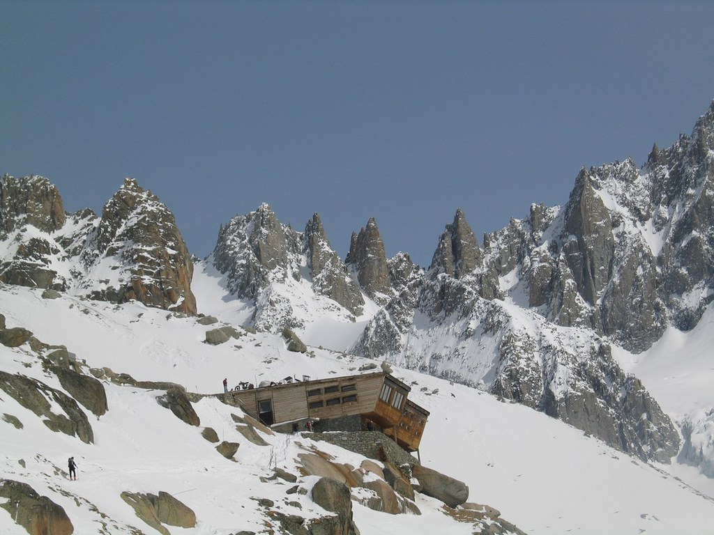 Refuge Argentière Massif Mont Blanc Frankreich foto 01