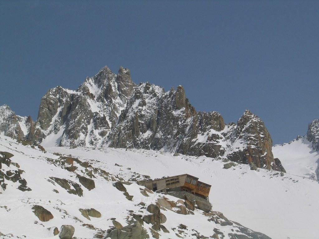 Refuge Argentière Massif Mont Blanc Frankreich foto 03