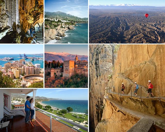 Nerja, Granada, Guadix, el Caminito del Rey y Málaga