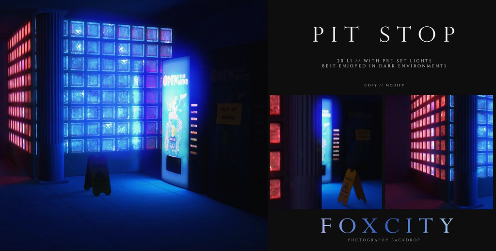 FOXCITY. Photo Booth – Pit Stop