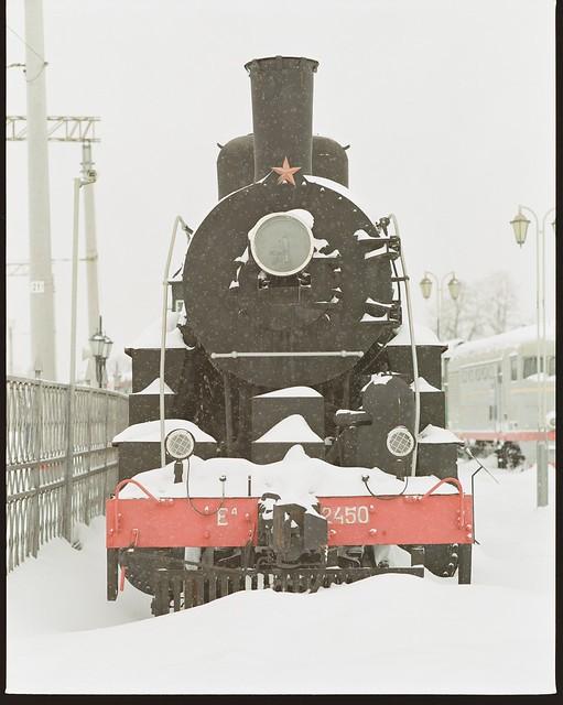 Steam Locomotive Ea -2450