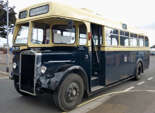 JOJ 257 'Quantock Heritage' 'Birmingham City Transport' No. 2257. Leyland PS2 / Weymann /1 on Dennis Basford's railsroadsrunways.blogspot.co.uk'