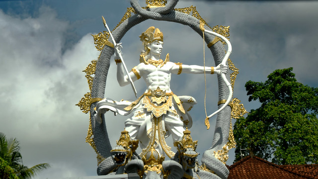 Statue Of Hindu Diety, Bali, Indonesia.