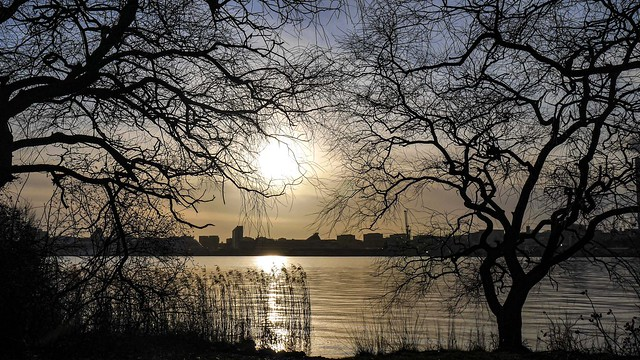 Sunset over Stockholm, Sweden /1 2020.