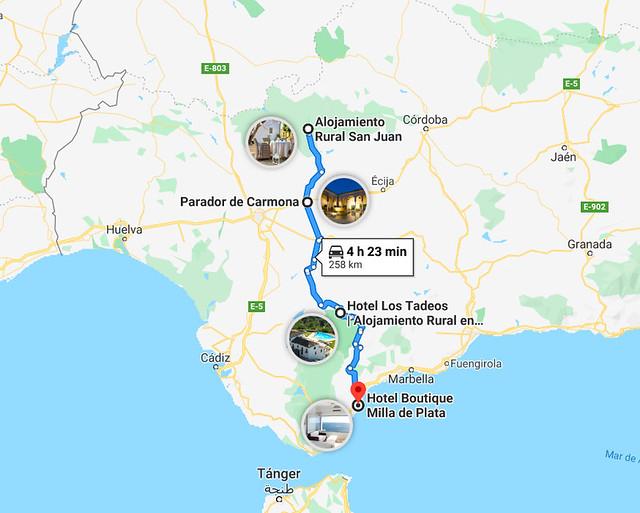 Lugares para descansar en el sur de España