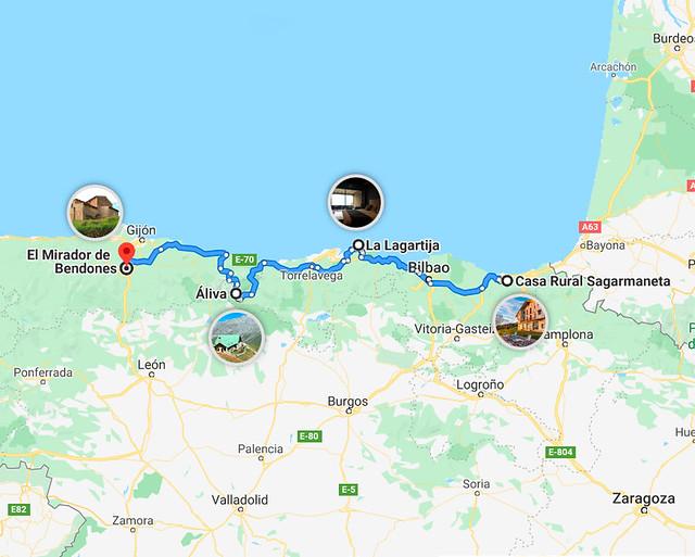 Mejores lugares para descansar en el norte de España