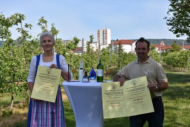 Landesprämierung Obstverarbeitungsprodukte 2020 - Sortensieger