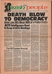The Irish Republican newspaper The Irish People: 1976