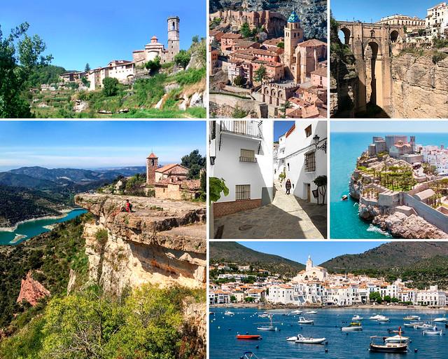 Itinerario por los pueblos más bonitos de España
