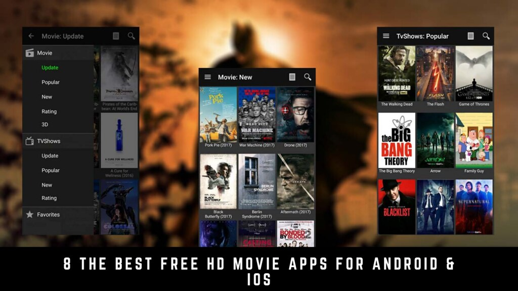 8 The Best Free Hd Movie Apps For Android & iOS