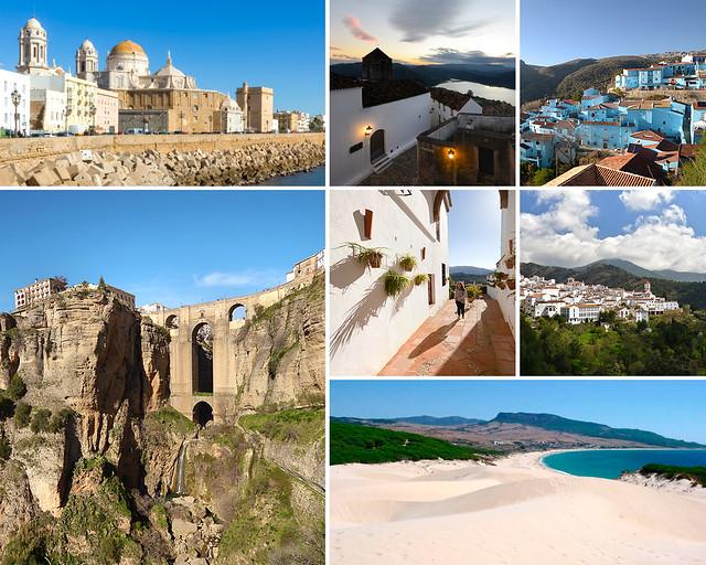 Cádiz, Ronda, Castellar y la playa de Bolonia
