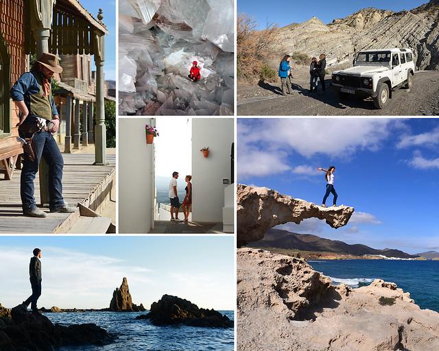 Cabo de Gata, Desierto de Tabernas y Mojacar