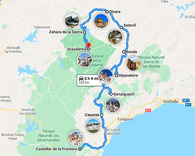 Viaje por los pueblos más bonitos de Andalucía