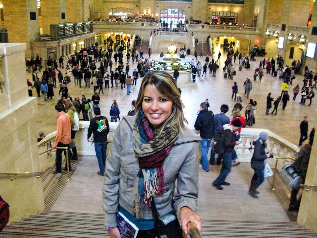 Interior de Central Station en Nueva York