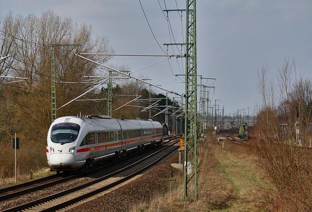 ICE TD auf dem Weg nach Hamburg