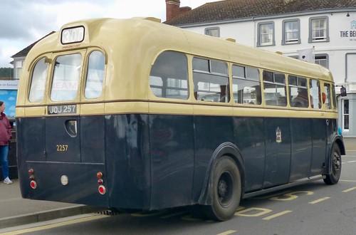 JOJ 257 'Quantock Heritage' 'Birmingham City Transport' No. 2257. Leyland PS2 / Weymann /4 on Dennis Basford's railsroadsrunways.blogspot.co.uk'