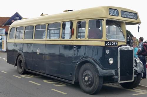 JOJ 257 'Quantock Heritage' 'Birmingham City Transport' No. 2257. Leyland PS2 / Weymann /3 on Dennis Basford's railsroadsrunways.blogspot.co.uk'