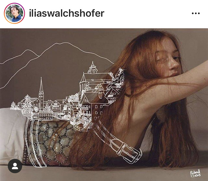 DISTRICT F — ILLUSTRATION OVER PHOTOGRAPHY ьлиир