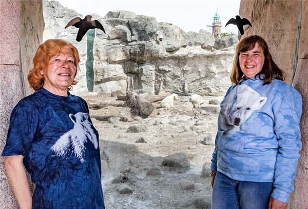 Die-beiden-Eisbaerenfans-Ilse-Baudy-70-und-ihre-Freundin-52994
