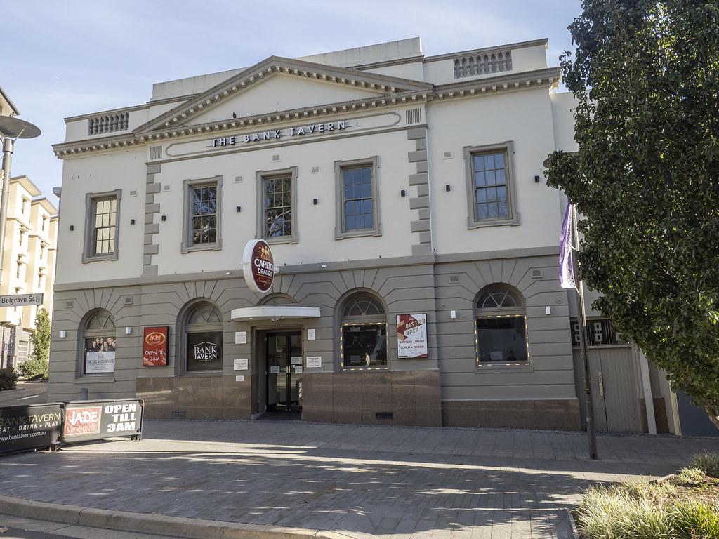 Kogarah NSW - former Commonwealth Bank of Australia - built 1920's