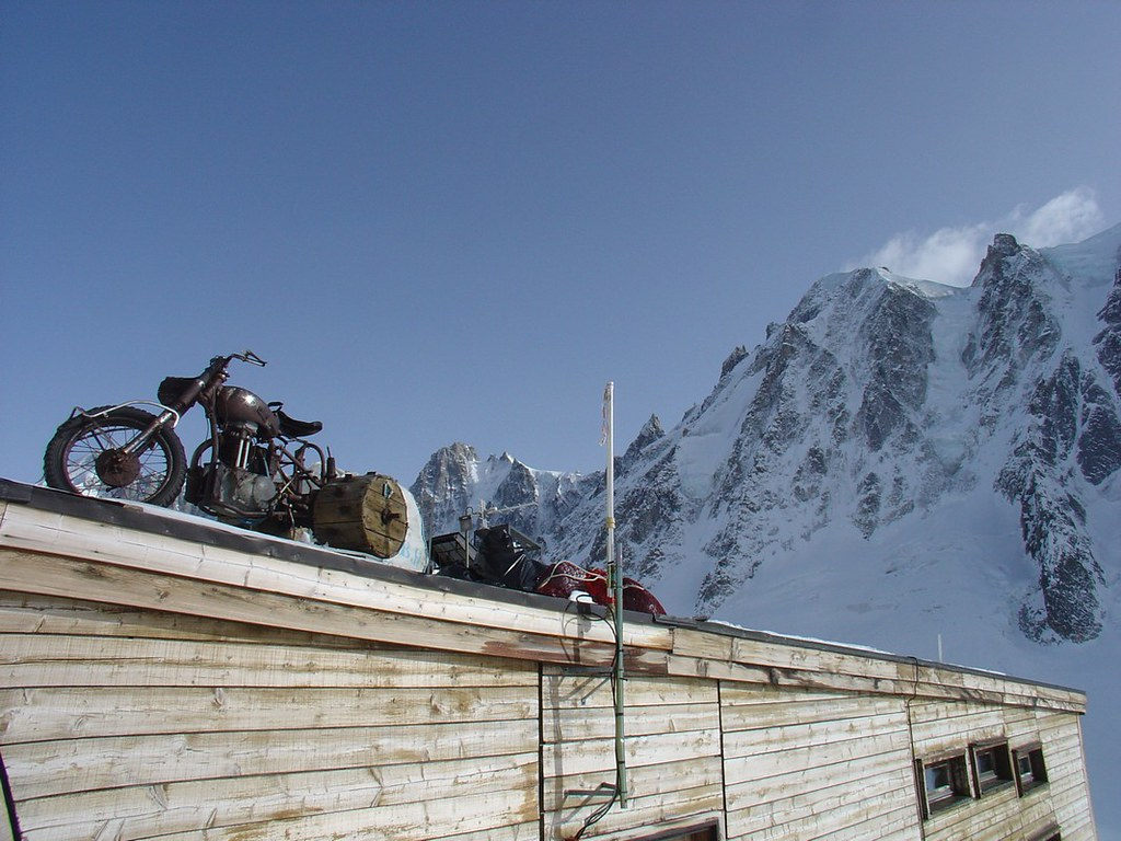 Refuge Argentière Massif Mont Blanc Frankreich foto 02