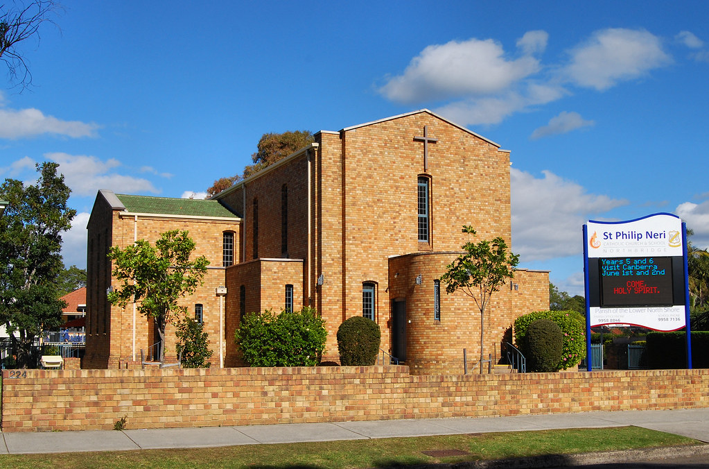 St Philip Neri Catholic Church, Northbridge, Sydney, NSW.