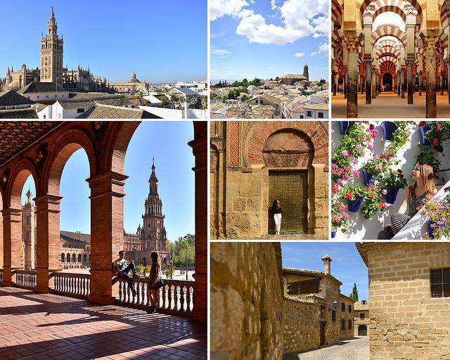 Ubeda, Baeza, Córdoba y Sevilla