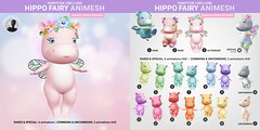 SEmotion Libelline Hippo Fairy Animesh