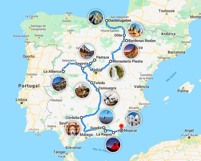 Mejor ruta por España para hacer fotos