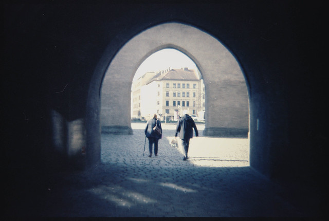 Portal (Lomochrome Metropolis)