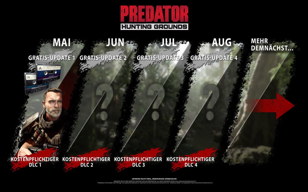 49886710881 4e1289ae89 b - Dutch kehrt in Predator: Hunting Grounds in den Dschungel zurück