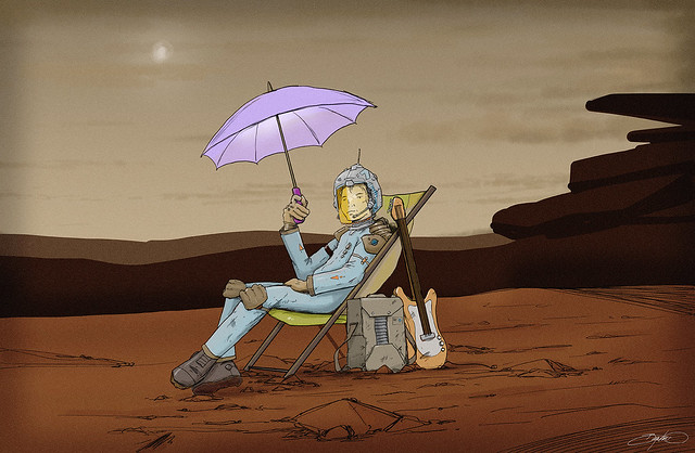 Martian Siesta