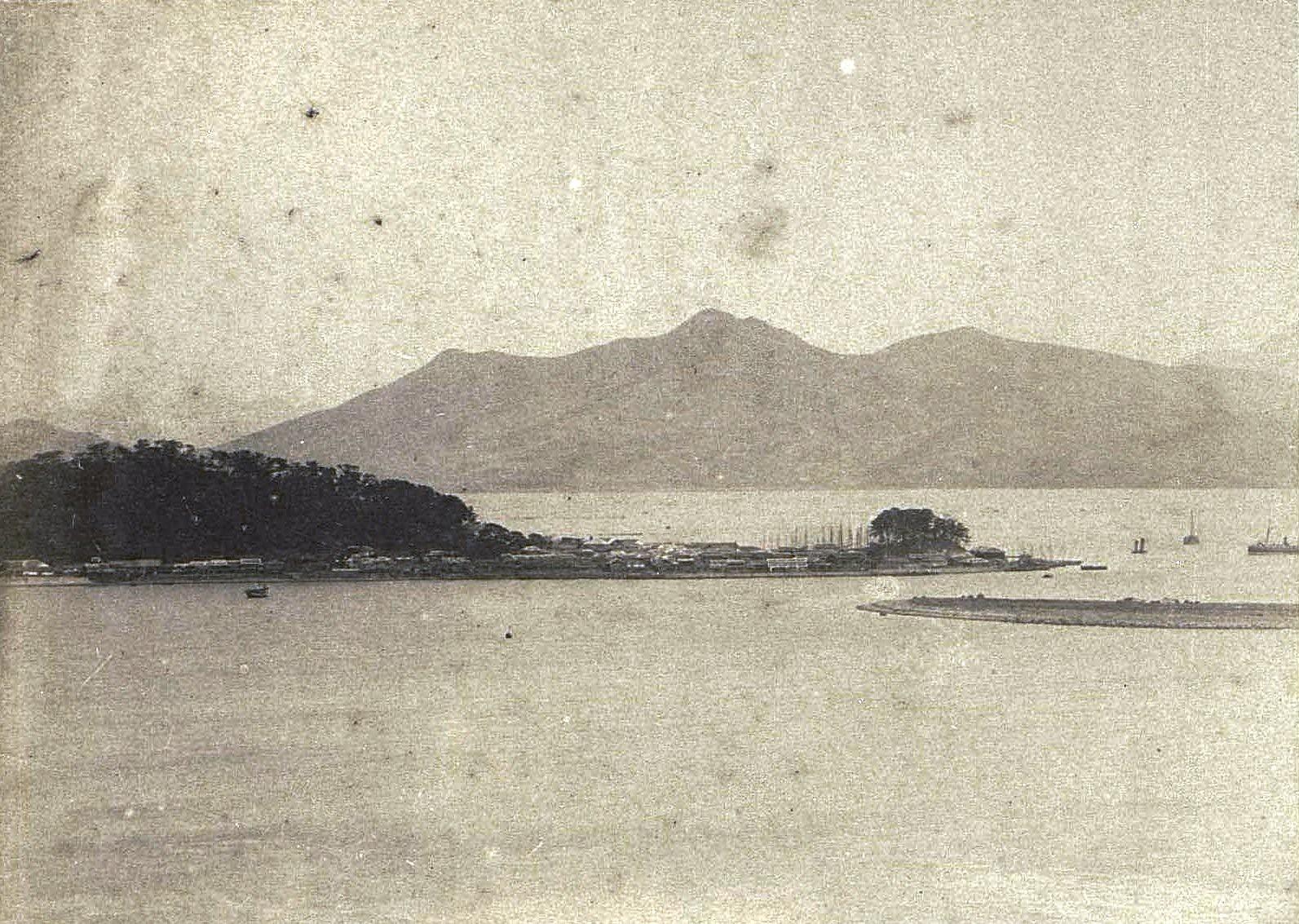 1898. Корея, г. Фузан