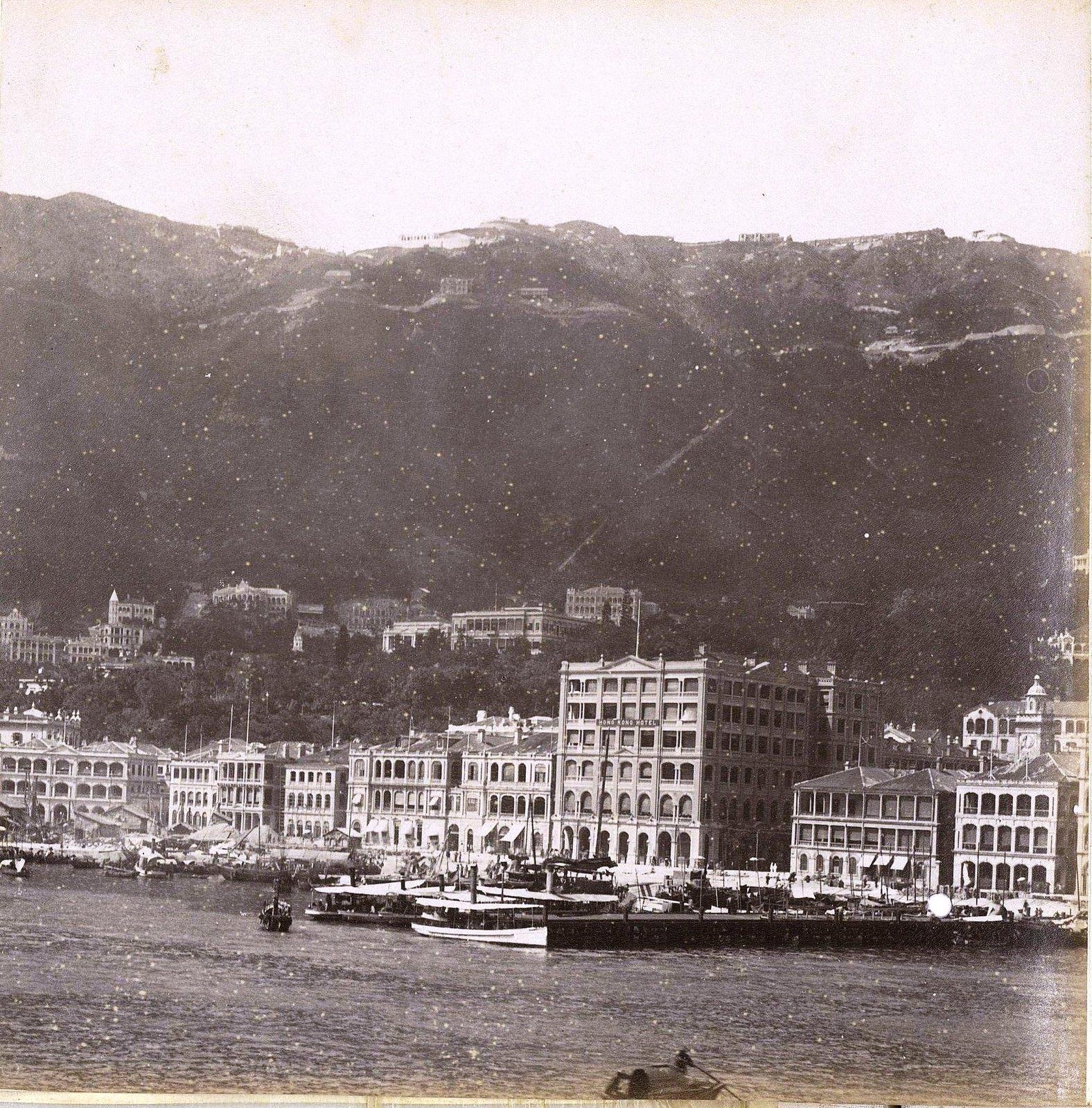1898. Гонконг. Вид на город (3)