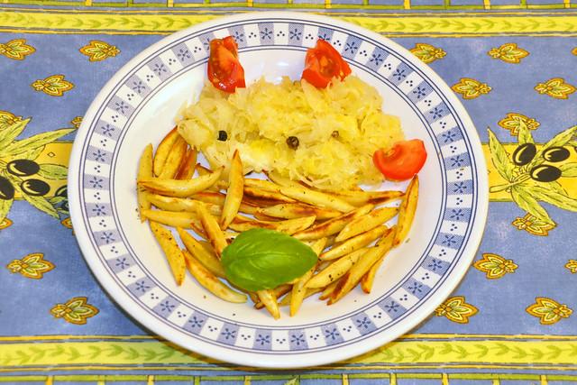 Schupfnudeln und Sauerkraut, vegetarisch und bio ... Brigitte Stolle